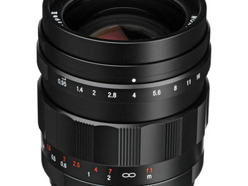 Rent: Voigtlander 25mm f0.95 for Micro Four Thirds(w/UV Filter)