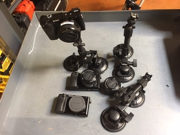Rent: Sony a6300 THREE Camera Car Mount Kit
