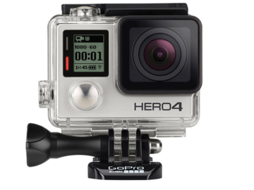 Rent: GoPro Hero 4 Silver + (4) Batteries + (3) Memory Cards