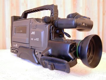 Rent: Full sized News/ENG/Reporter Prop Camera for TV/Movies