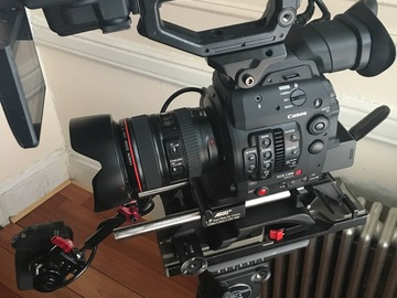 Rent: Canon C300 Mark II Complete Kit w/ Shoulder Rig