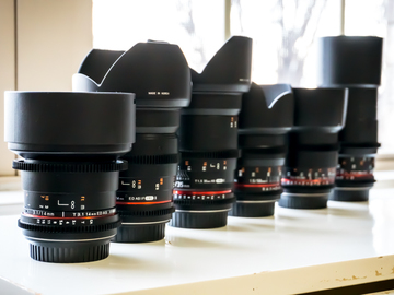 Rent: Rokinon cine DS prime lens 14,24,35,50,85,100 Macro