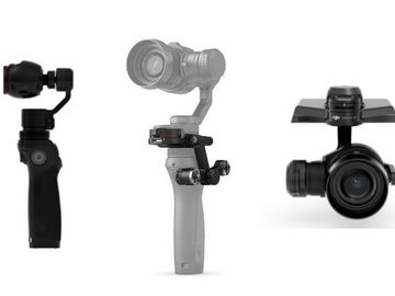 Rent: DJI OSMO X5R RAW Camera Package