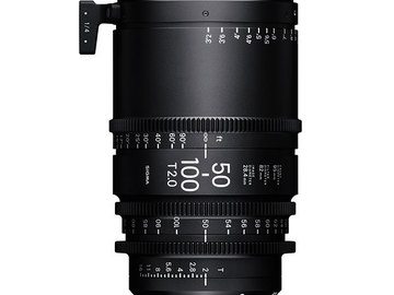 Rent: Sigma 50-100 T2.0 & Sigma 18-35 T2.0 Cinema Lenses Package