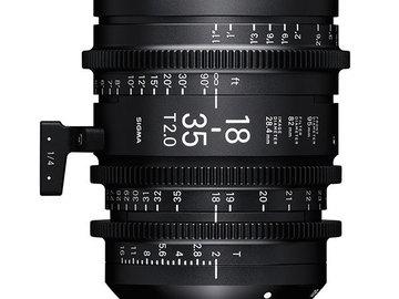 Rent: Sigma 18-35 T2.0 Cinema Lens