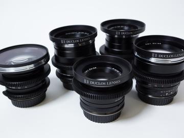Rent: Zeiss Duclos Cine Mod Primes full set. EF mount
