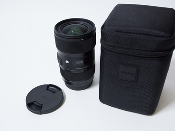 Rent: Sigma 18-35mm f/1.8 ART ZOOM EF mount