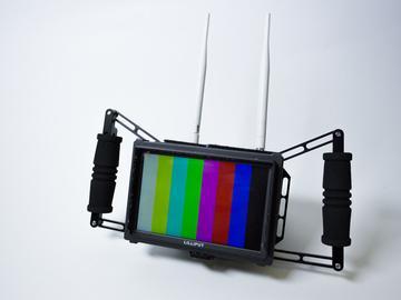 Rent: Liliput Q7 HDMI SDI 1080p Director Monitor in cage