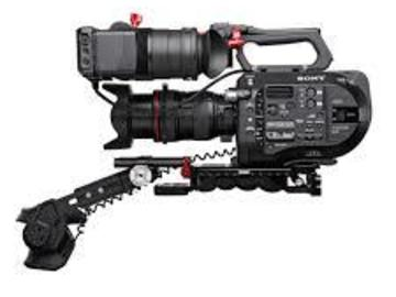 Sony FS7 4K w/ExtensionUnit Shoulder Mount, Lens & Tripod EF