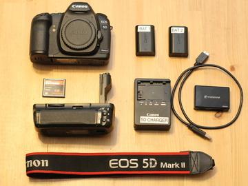 Rent: Canon 5D Mark II (body + accessories )