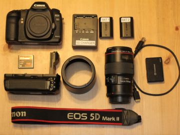 Rent: Canon 5D Mark II Package