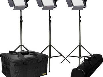 Rent: ikan IFB576 Bi-Color 3-Point LED Light
