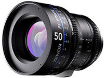 Rent: Xenon FF-Prime Lenses 35mm, 50mm, 100mm T2.1