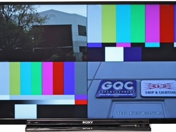 Rent: Sony 40 inch Quad Split Monitor for multi-cam shoots