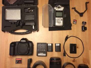 Rent: Canon 5D Mark II-  V's Ultimate Package