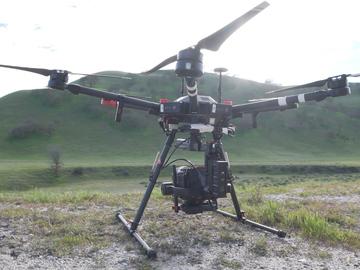 Rent: RED EPIC DRAGON Aerial Platform Drone Combo w/ UAV Pilot 107