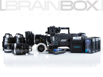 Rent: ARRI Alexa Classic INDIE Package w/ HiSpeed + Lenses!