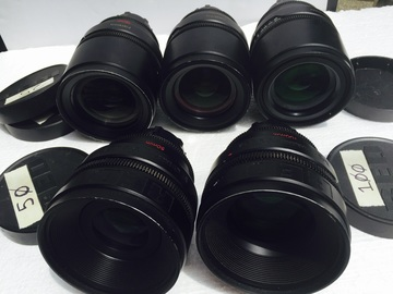 Rent: RED PRIMES lenses