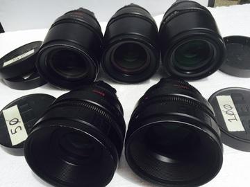 Rent: RED PRIMES lenses