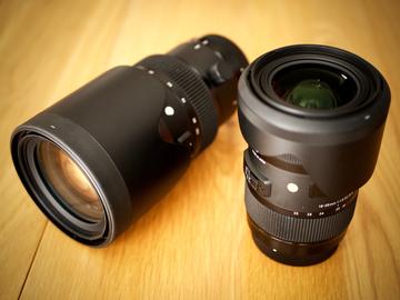 Rent: Sigma ART Zoom Lens Set for Canon EF