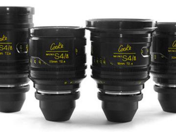 Rent: Cooke miniS4/i 6 Lens set - (18, 25, 32, 50, 75, & 100mm)