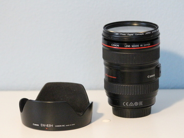 Rent: Canon EF 24-105mm f/4 IS L AF USM Lens