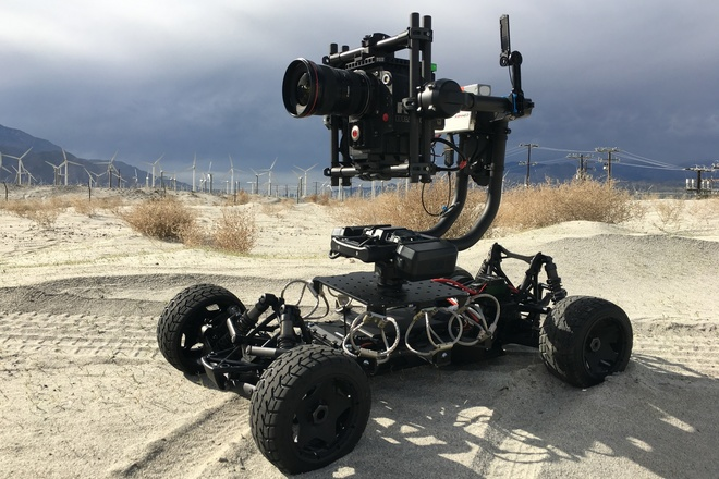 Tero Rc Car with Movi Pro Gimbal and Red Epic - DroneTeamSix