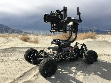Rent: Tero Rc Car with Movi Pro Gimbal and Red Epic - DroneTeamSix