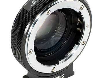 Rent: Metabones Speed Booster XL 0.64x for Nikon F-Mount to MFT