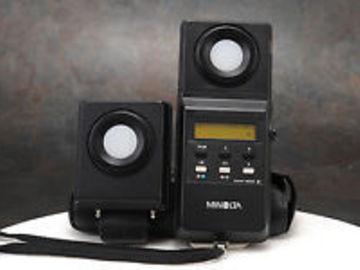 Rent: Minolta Color Meter + Flash Color Meter