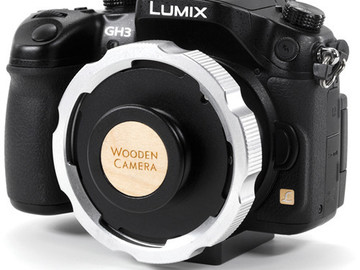 Rent: Wooden Camera MFT to PL Adapter for GH3 & GH4