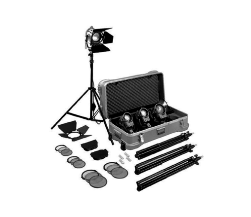 Arri 4 Bank Tungsten Kit