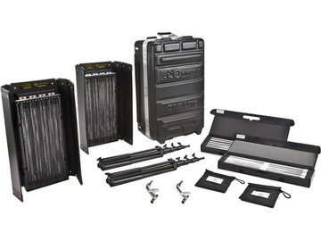 Rent: Kino Flo Diva-Lite 415 Universal 2-Light Kit w/ Flight Case