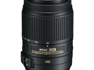 Rent: Nikon 55-300mm f/4.5-5.6G ED VR AF-S DX Nikkor Zoom Lens