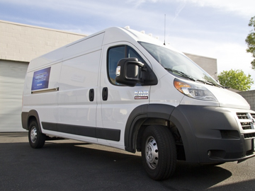 Rent: 1 Ton Sprinter 2016 Ram Promaster Grip/Camera Van