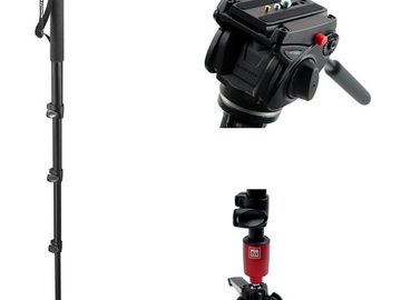 Rent: Manfrotto Fluid Video Monopod with Head
