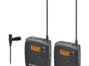 Rent: Sennheiser EW112-G3 Wireless Lavalier Transmitter/Receiver
