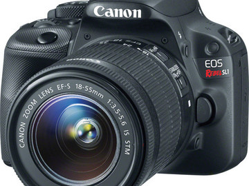 Rent: Canon EOS Rebel SL1 DSLR Camera with 18-55mm Lens