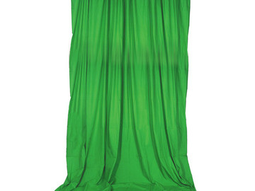 Rent: Impact Background Support Kit - 10 x 24' (Chroma Green)