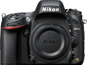 Rent: Nikon D610