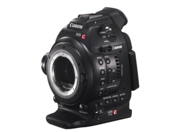 Rent: Canon C100 with C-shooter Shoulder Rig and Monitor