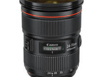 Rent: Canon 24 to 70