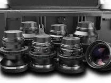 Rent: Duclos Cine Mod Zeiss ZF Prime Lens set (Canon EF)