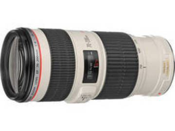 Rent: Canon 70 to 200