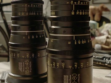 Rent: ARRI ALURA 15.5-45mm and 30-80mm T2.8 LDS Zoom SET