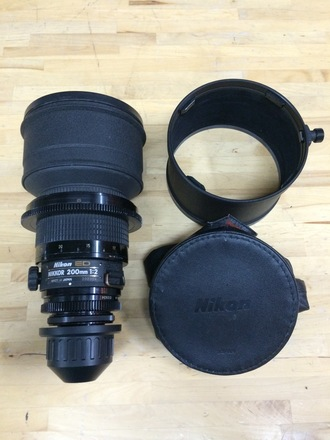 Nikon / Nikkor 200mm T2 PL Mount Cinema Prime Lens