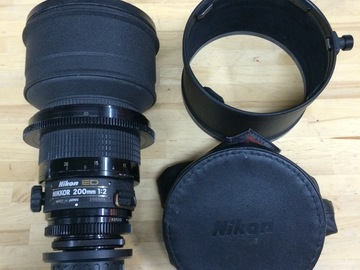 Rent: Nikon / Nikkor 200mm T2 PL Mount Cinema Prime Lens