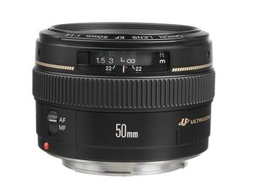 Canon EF 50mm 1.4 USM Lens