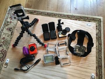 Rent: GoPro Hero 4 Black Bundle Pro/Vacation Kit