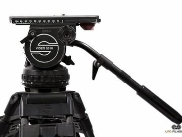 Rent: Sachtler Video 20 III Tripod w/Vinten Carbon Fiber Sticks
